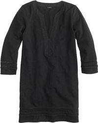 J.Crew Embroidered Three-Quarter Sleeve Beach Tunic - Lyst