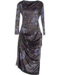Vivienne Westwood Anglomania Knee-Length Dress - Lyst