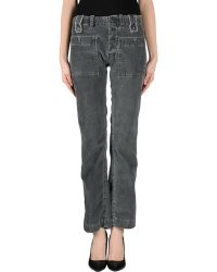 Diesel Casual Trouser gray - Lyst