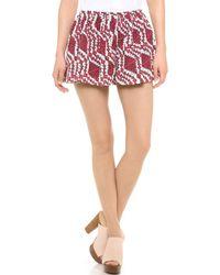 Thakoon Addition   Printed Full Shorts   Lyst