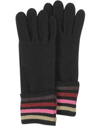 Sonia Rykiel - Multico Cardinal Stripe Wool Women'S Gloves - Lyst