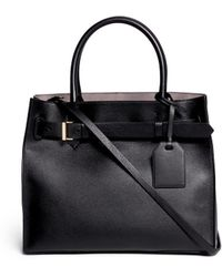 Reed Krakoff 'Rk40' Buckle Strap Leather Tote - Lyst