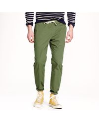 J.Crew Sideline Pant in Garmentdyed Cotton - Lyst