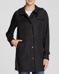 DKNY - Coat - Tilly Hooded Rain - Lyst