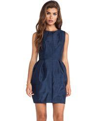 Keepsake Blue Resolution Dress - Lyst