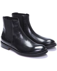 Costume National Classic Chelsea Boots - Lyst