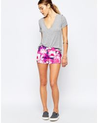 Blend She - Lola Shorts - Printed - Lyst