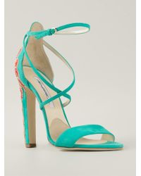 Brian Atwood 'Sonya' Sandals - Lyst