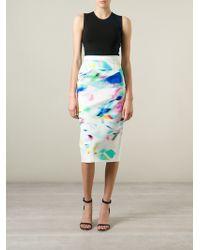 Roland Mouret 'Arreton' Skirt - Lyst
