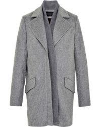 Thakoon Brushed Wool Coat - Lyst