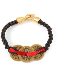 Lulu Frost Triple Coin Bracelet - Lyst