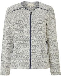 Linea Weekend Textured Jacket - Lyst