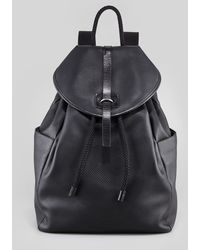 Alexander McQueen Perforatedskull Leather Backpack Black - Lyst