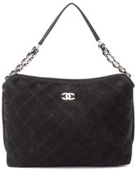 Chanel Pre-Owned Quilted Shoulder Bag - Lyst
