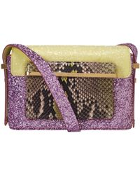 Mary Katrantzou Mvk Small Pink Glitter purple - Lyst