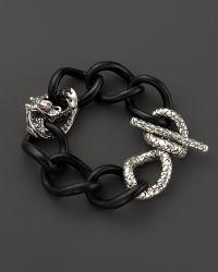 John Hardy Sterling Silver Dragon Large Chain Link Bracelet  - Lyst