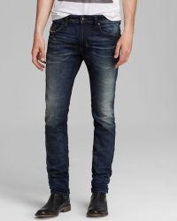 Diesel Jeans  Thavar Jogg Slim Fit in Dark Wash - Lyst