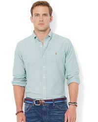 Polo Ralph Lauren Ralph Lauren Solid Oxford Shirt - Lyst