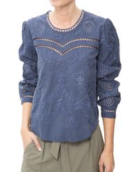 Sea | Broderie Anglaise Top | Lyst