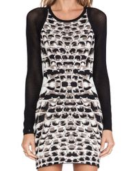 Parker Hartley Knit Dress - Lyst
