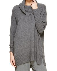Donna Karan New York Sweater Knit Tunic Sweater - Lyst