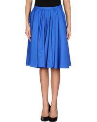 Tara Jarmon Knee Length Skirt - Lyst