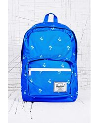Herschel Supply Co. Pop Quiz Backpack In Palm Print - Lyst
