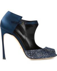 Sergio Rossi Embellished Pump Shoes - Lyst
