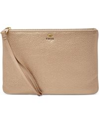 Fossil | Gifting Leather Wristlet | Lyst