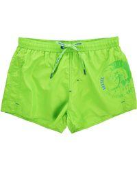 Diesel Green Coralrif Iruquai Print Swim Shorts green - Lyst