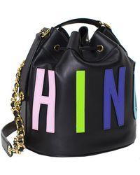 Moschino Bucket Bag - Lyst