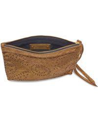Cleobella - Bronze Mexicana Makeup Bag - Lyst