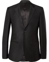 Raf Simons Charcoal Slimfit Degradã Wool Suit Jacket - Lyst