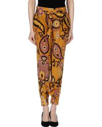 Gucci Casual Trouser orange - Lyst