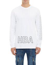 Hood By Air Stenciled Long Sleeve T-Shirt - Lyst