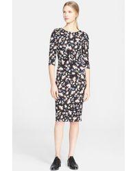 Erdem Floral Print Jersey Dress - Lyst