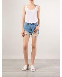 Neuw - 'lola' Denim Shorts - Lyst