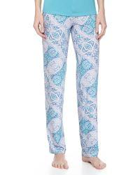 Cosabella Paisley-Print Pajama Pants - Lyst
