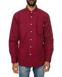 Obey The Cass Ls Buttondown Shirt - Lyst