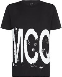 McQ by Alexander McQueen Game Over Logo Tshirt - Lyst