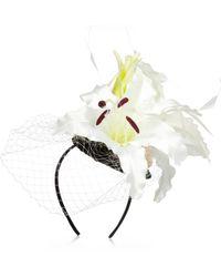 River Island | Cream Flower Fascinator | Lyst