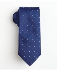 Hugo Boss Dark Blue Dotted Silk Tie - Lyst