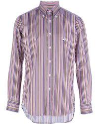 Etro Striped Shirt - Lyst