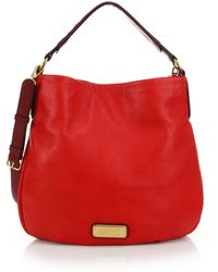Marc By Marc Jacobs Hillier Two-Tone Hobo Bag - Lyst