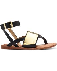 Circus By Sam Edelman Mercer Ankle Strap Thong Sandals - Lyst