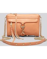 Rebecca Minkoff Crossbody Mini Mac - Lyst