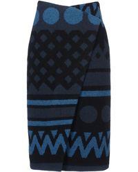 Burberry Prorsum 34 Length Skirt - Lyst