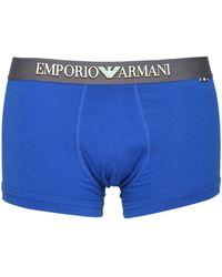 Emporio Armani | Stretch Cotton Jersey Boxer Briefs | Lyst