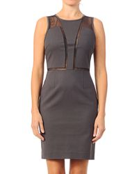 Calvin Klein Bodycon Dress - J2Ij201986 136 - Lyst