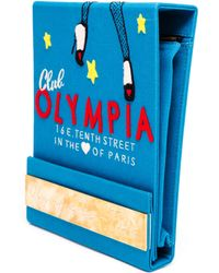 Olympia Le-Tan Club Olympia Matchbook Clutch - Lyst